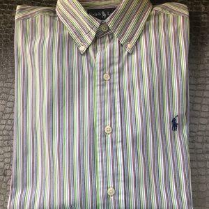 Ralph Lauren striped long sleeve shirt